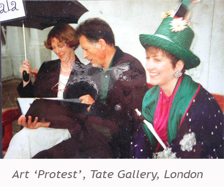 Art-Protest-Tate-Gallery